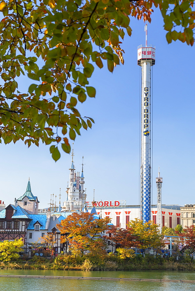 Lotte World Adventure theme park, Seoul, South Korea, Asia