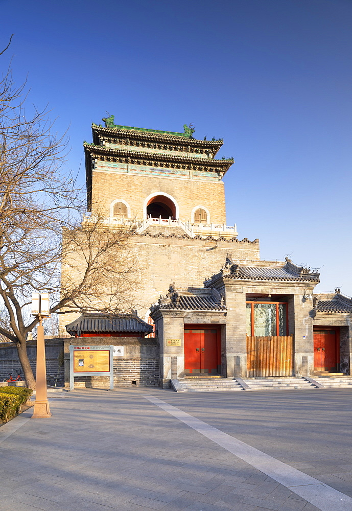 Bell Tower, Dongcheng, Beijing, China, Asia - 800-3921