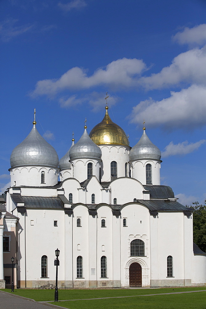 St Sophia Cathedral, Kremlin, UNESCO World Heritage Site, Veliky Novgorod, Novgorod Oblast, Russia