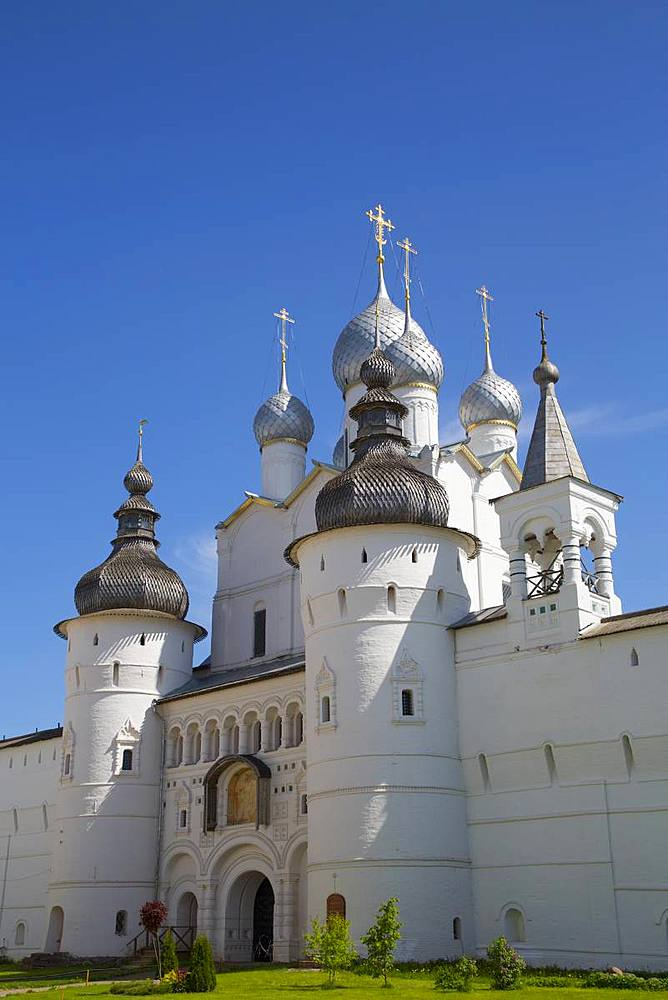 Resurrection of Christ Gate Church, Kremlin, Rostov Veliky, Golden Ring, Yaroslavl Oblast, Russia, Europe - 801-2321