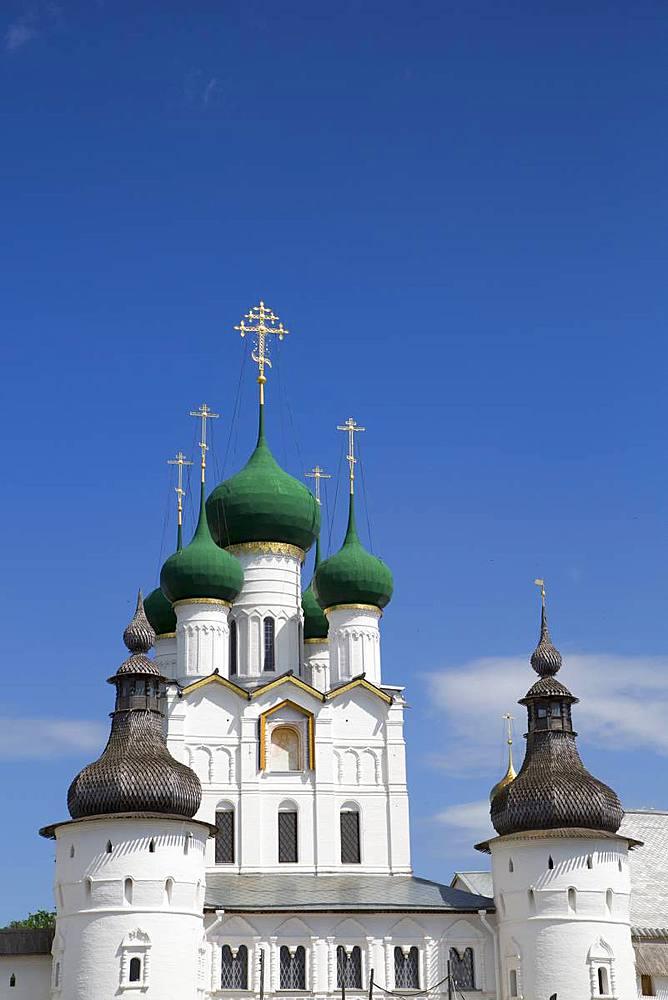 Gate Church of St. John the Divine, Kremlin, Rostov Veliky, Golden Ring, Yaroslavl Oblast, Russia, Europe