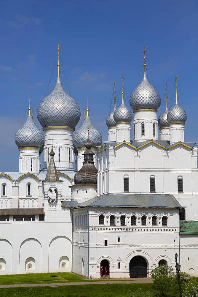 Resurrection of Christ Gate Church, Kremlin, Rostov Veliky, Golden Ring, Yaroslavl Oblast, Russia, Europe - 801-2323