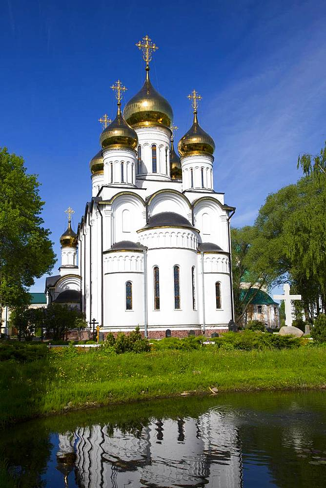 St. Nicholas Cathedral, Nikolsky Women's Monastery (Convent), Pereslavl-Zalessky, Golden Ring, Yaroslavl Oblast, Russia, Europe