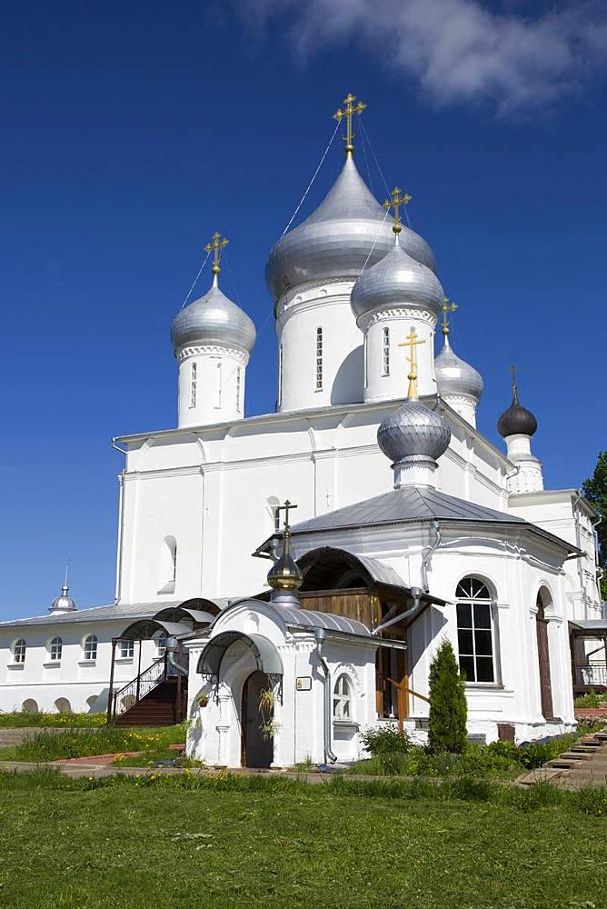 Nikitsky Cathedral, Nikitsky Monastery, Pereslavl-Zalessky, Golden Ring, Yaroslavl Oblast, Russia - 801-2350