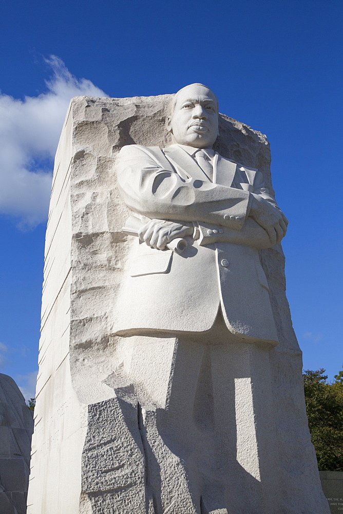 Martin Luther King JR Memorial, Washington D.C., United States of America, North America - 801-2450