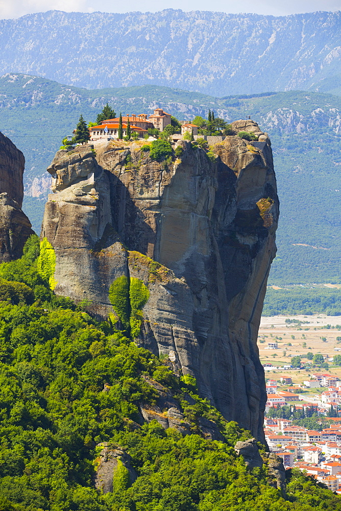 Holy Monastery of Holy Trinity, Meteora, UNESCO World Heritage Site, Thessaly, Greece, Europe