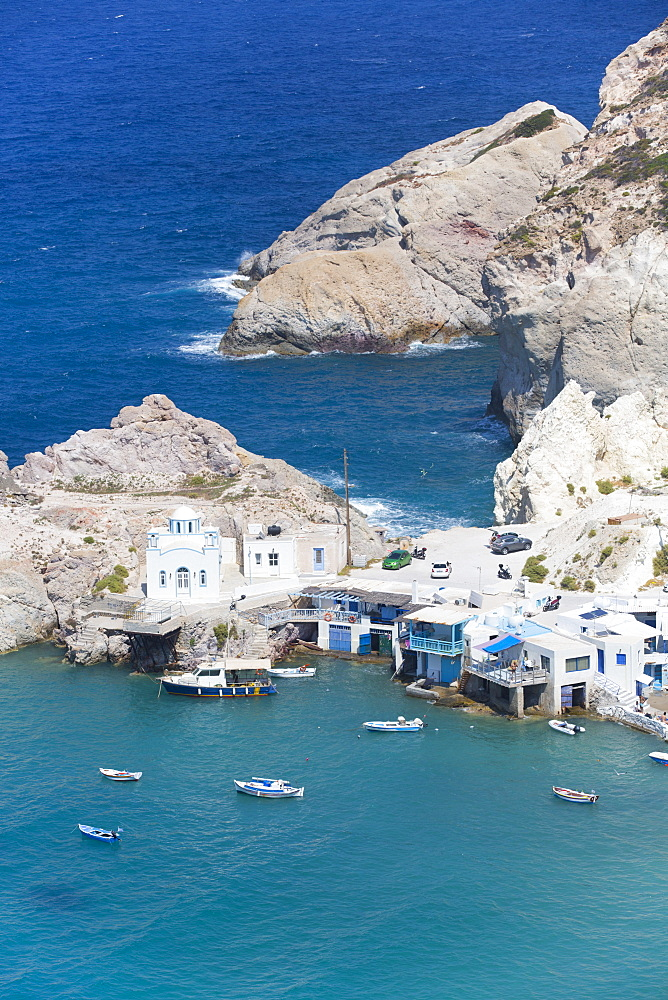 Fyropotamos Village, Milos Island, Cyclades Group, Greek Islands, Greece, Europe
