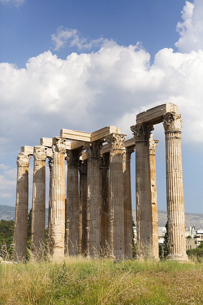Temple of Olympian Zeus, Athens, Greece, Europe