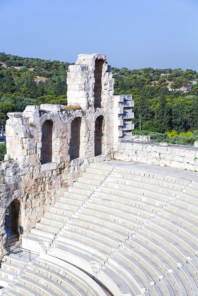 Theatre of Herod Atticus, Acropolis, UNESCO World Heritage Site, Athens, Greece, Europe