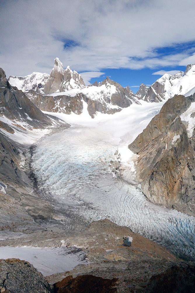 Cerro Torre, El Chalten, Argentine Patagonia, Argentina, South America - 802-449