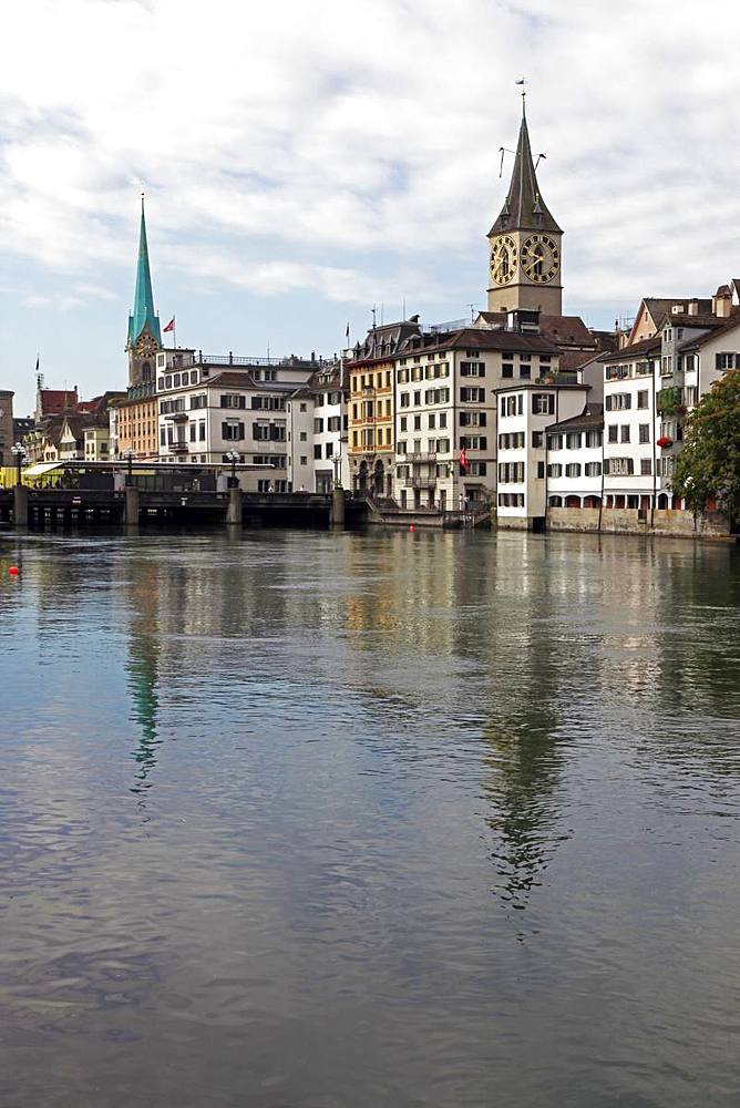 Central Zurich, Switzerland, Europe - 802-462