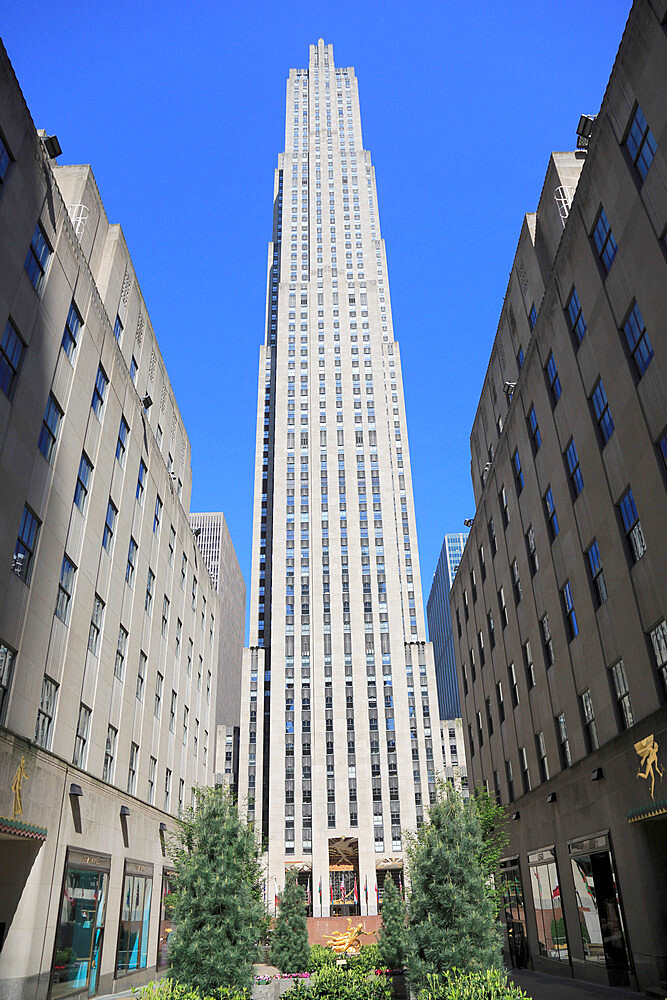 Rockefeller Center, 5th Avenue, Midtown, Manhattan, New York City, USA - 807-2037