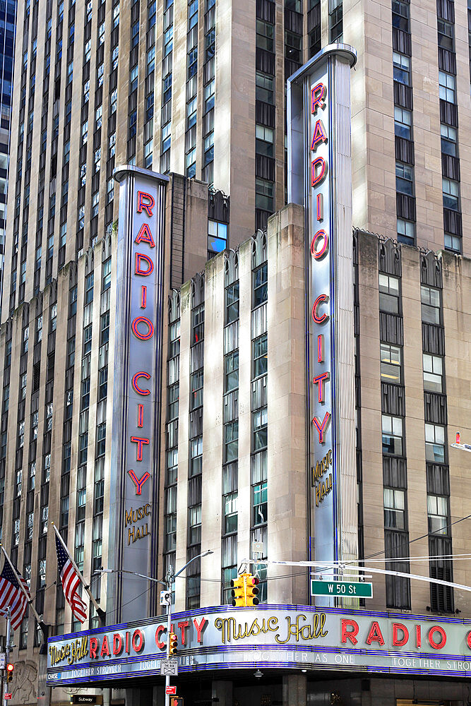 Radio City Music Hall, Rockefeller Center, Midtown, Manhattan, New York City, New York, USA - 807-2041