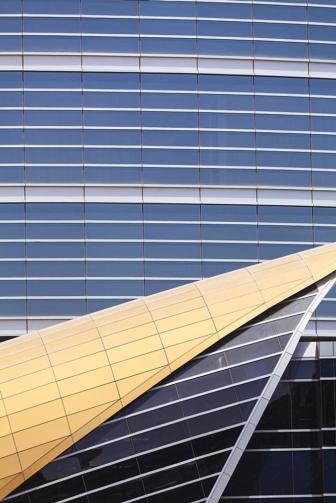Metro station, Dubai, United Arab Emirates, Middle East
