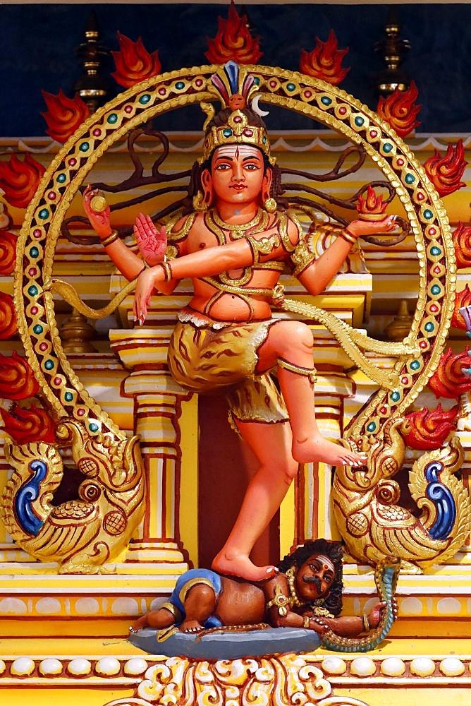 Shiva as Nataraj, Hindu Temple and Shrine of Batu Caves, Kuala Lumpur, Malaysia, Southeast Asia, Asia