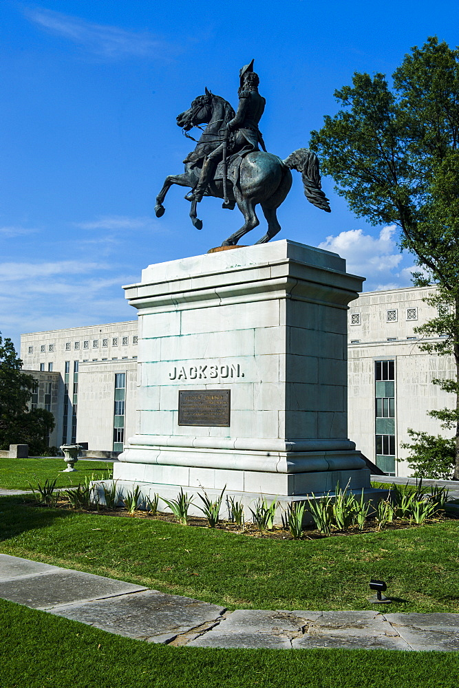 Andrew Jackson Memorial at the State Capitol in Nashville, Tennessee, United States of America, North America