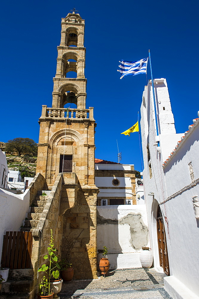 Lindos, Rhodes, Dodecanese Islands, Greek Islands, Greece, Europe