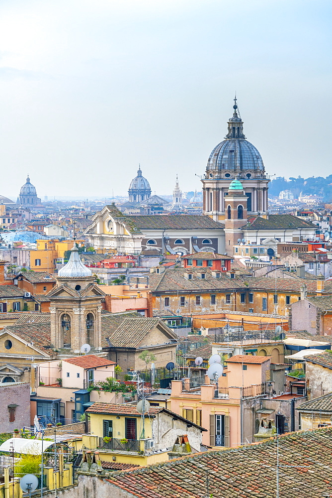 Basilica of SS. Ambrose and Charles on the Corso, Rome, Lazio, Italy, Europe