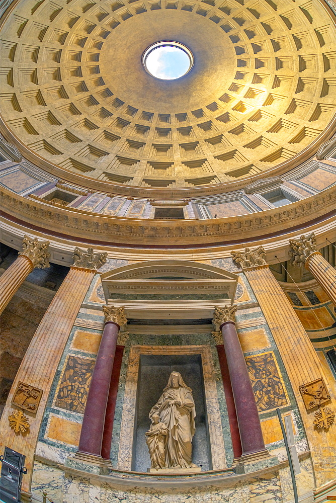 Pantheon, UNESCO World Heritage Site, Pigna, Rome, Lazio, Italy, Europe