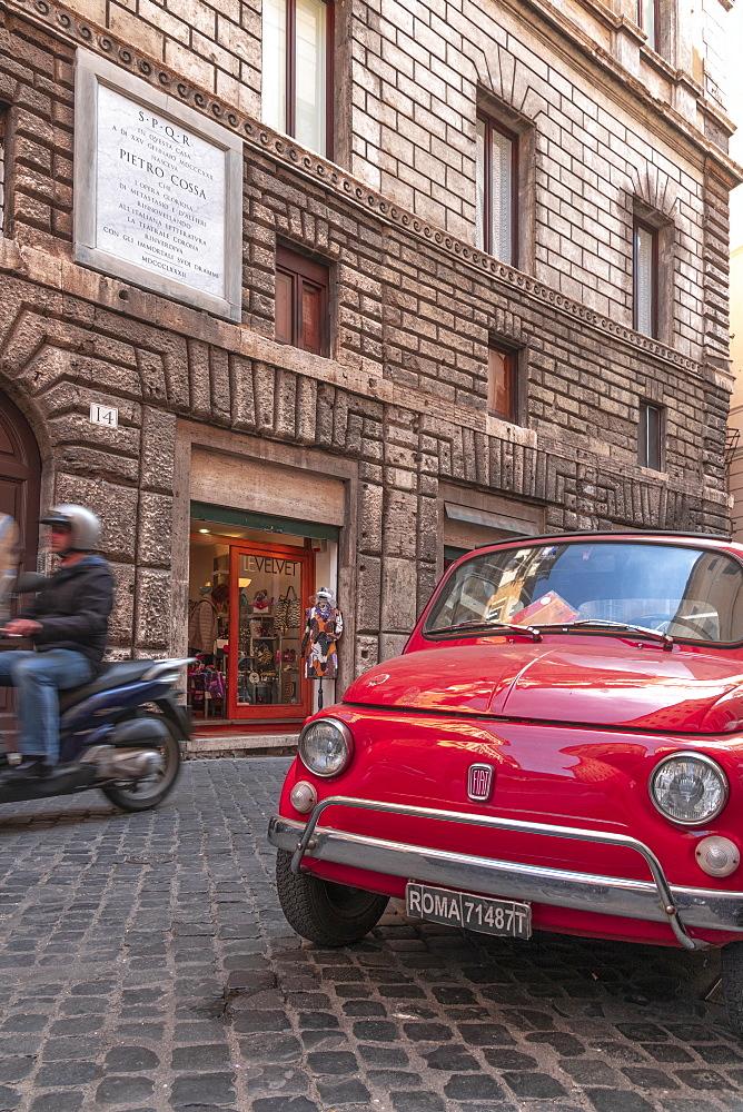 Via del Governo Vecchio, Ponte, Rome, Lazio, Italy, Europe