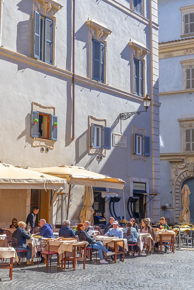 Piazza Santa Maria, Trastevere, Rome, Lazio, Italy, Europe