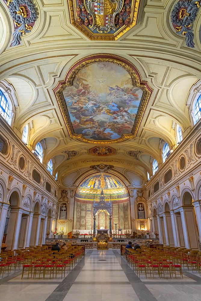 Basilica di Santa Cecilia in Trastevere, Trastevere, Rome, Lazio, Italy, Europe