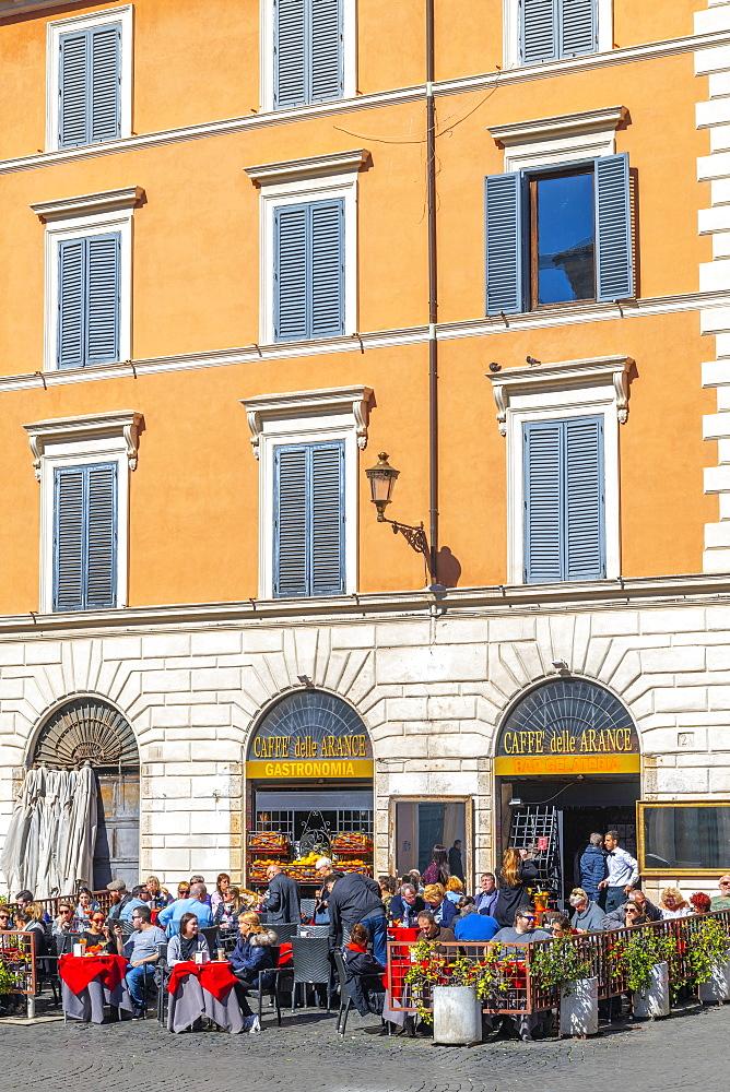 Piazza Santa Maria in Trastevere, Trastevere, Rome, Lazio, Italy, Europe