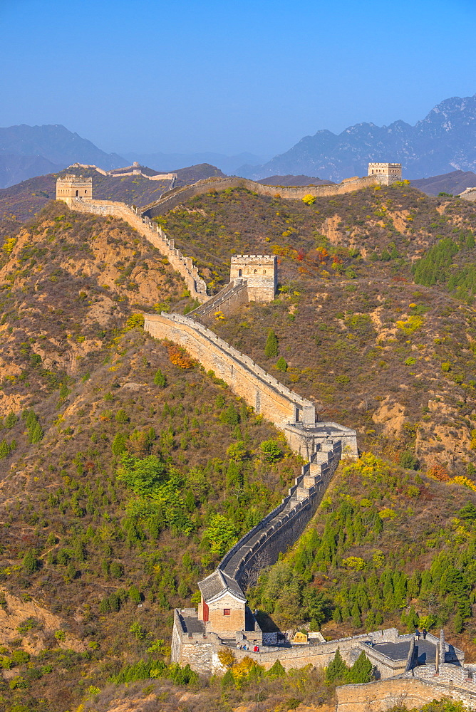 Great Wall of China, UNESCO World Heritage Site, dating from Ming Dynasty, Jinshanling, Luanping County, Hebei Province, China, Asia