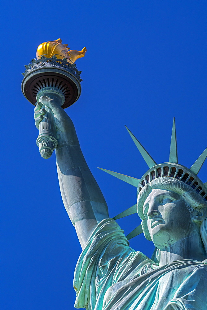 Statue of Liberty, Liberty Island, Manhattan, New York, United States of America, North America