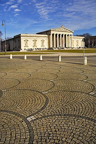 Glyptothek, Koenigsplatz, Munich, Bavaria, Germany