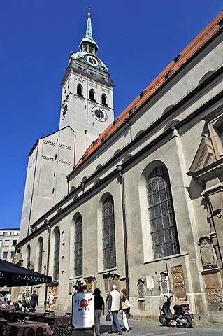 Church St. Peter, Munich, Bavaria, Germany