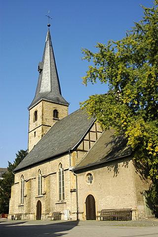 Protestant church, Rheda, North Rhine-Westphalia, Germany