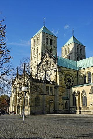 St. Paulus Cathedral, Muenster, North Rhine-Westphalia, Germany