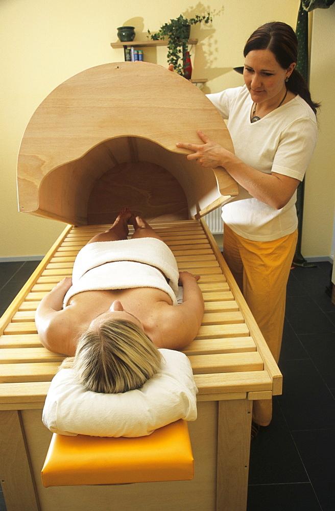 Sweat box, Ayurvedic treatment