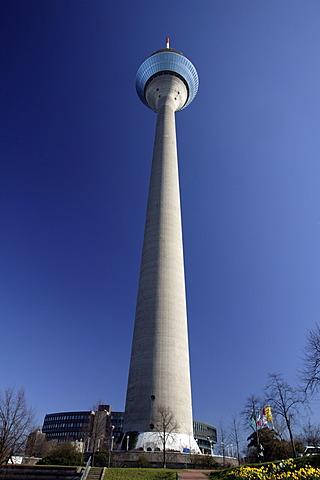 TV tower, Duesseldorf, North Rhine-Westphalia, Germany