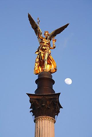 Friedensengel (Freedom Angel), Munich, Bavaria, Germany