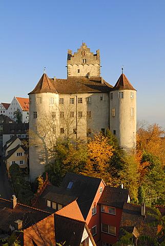 Meersburg - the historical castle - Baden Wuerttemberg, Germany Europe.
