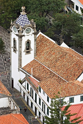 Church Sao Bento in Ribeira Brava - Madeira