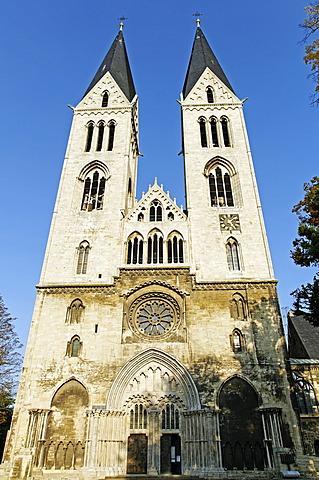 Halberstadt Cathedral, Saxony-Anhalt, Germany, Europe