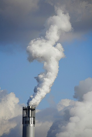 Smoking industry chimney