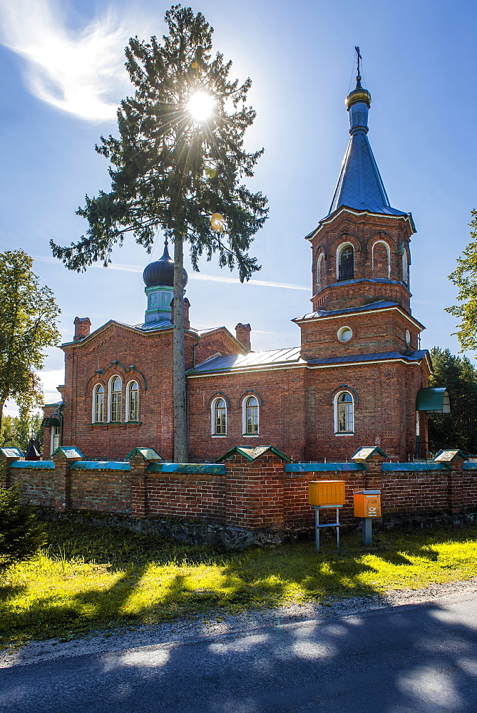 Orthodox Church, Alajõe, Estonia, Europe