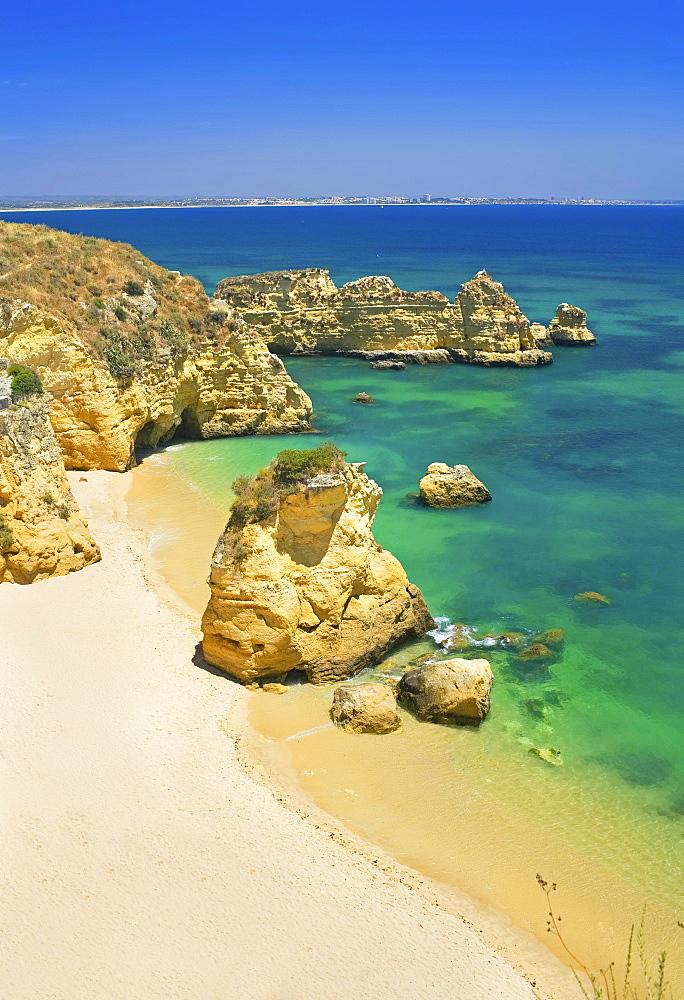 Dona Ana Beach, Praia Dona Ana, Lagos, Algarve, Portugal, Europe