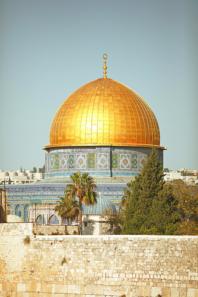 Dome of the Rock, Qubbat as-sachra, Kipat Hasela, Old City, Jerusalem, Israel, Asia