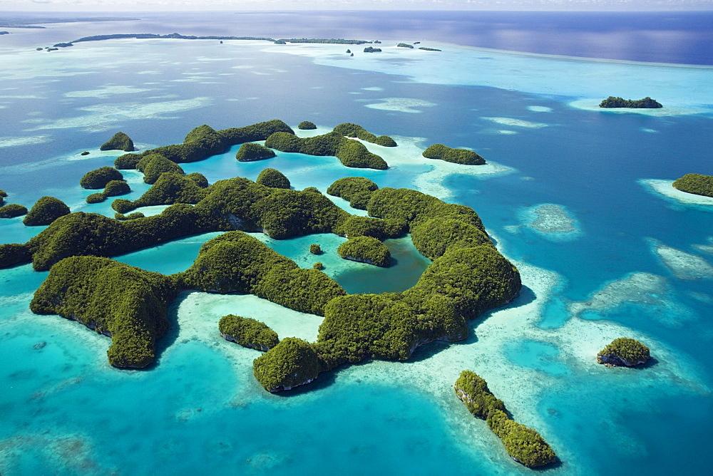 Seventy Islands of Palau, Micronesia, Pacific, Oceania