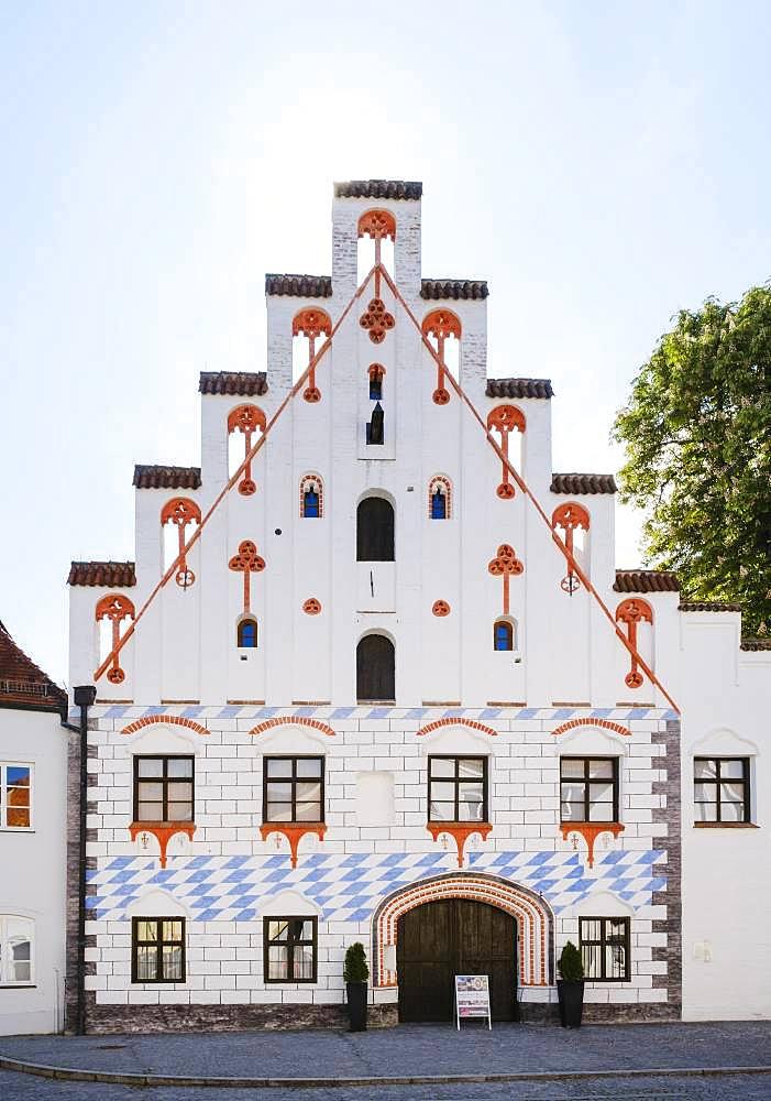 Herzogsburg in Oberstadt, Dingolfing, Lower Bavaria, Bavaria, Germany, Europe
