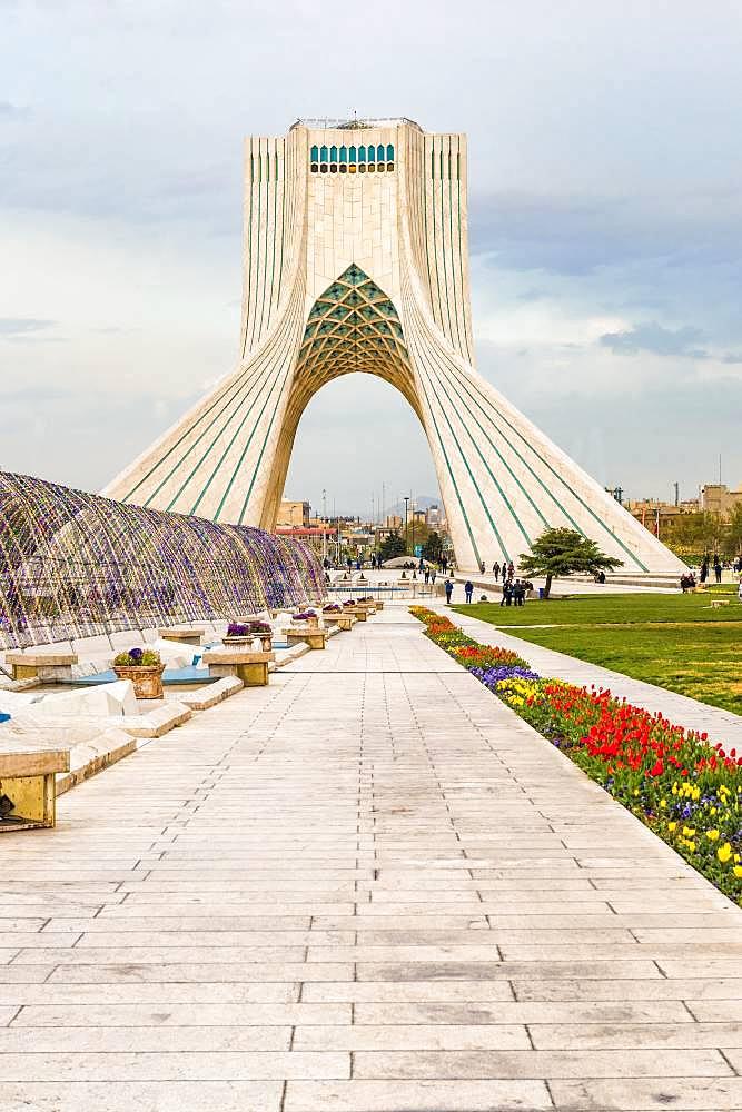 Azadi Tower, Tehran, Iran, Asia