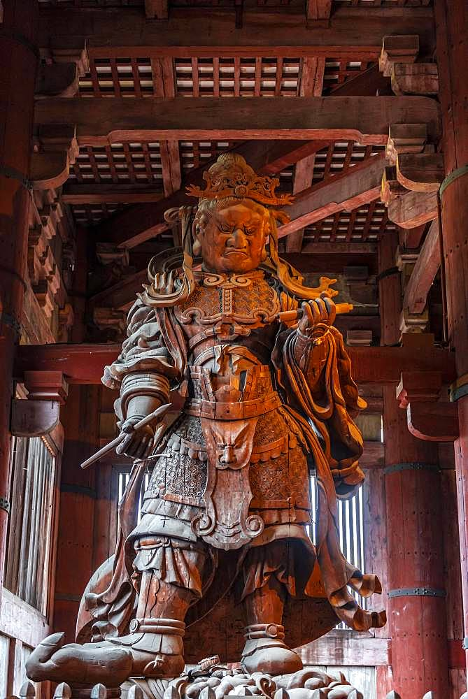 Komokuten, Guardian of the Temple, Todaiji Temple, Buddhist Temple, Nara, Japan, Asia