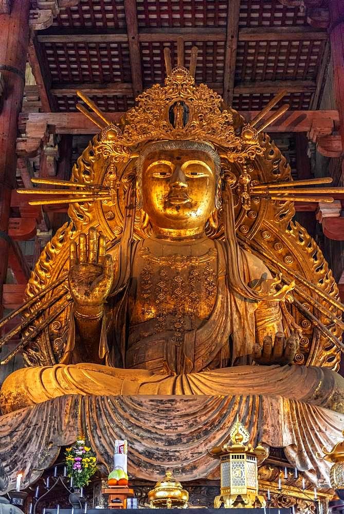 Nyoirin-kannon Statue in Todaiji Temple, Buddhist Temple, Nara, Japan, Asia
