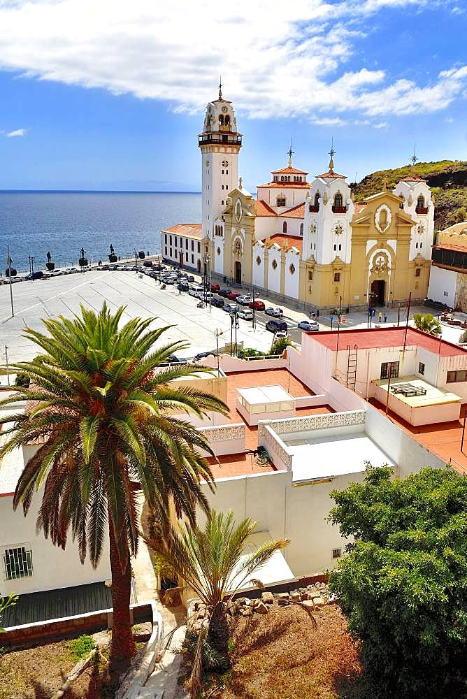 Basilica de Nuestra Senora de Candelaria, Sanctuary, Candelaria, Tenerife, Canary Islands, Spain, Europe