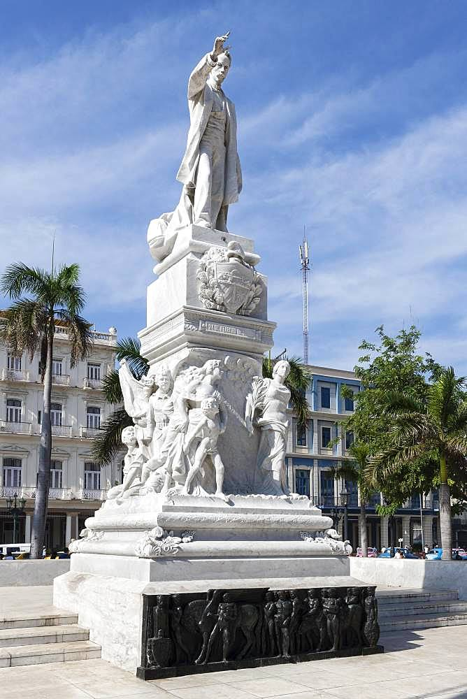 Monument National Hero Jose Marti, Havana, Cuba, Central America
